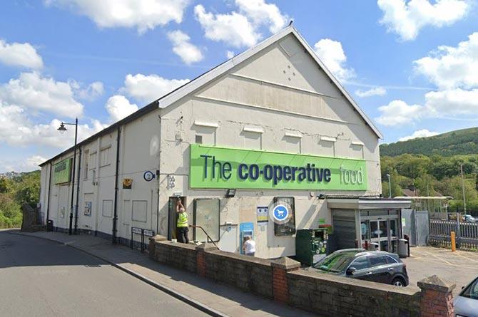 The Co-op store in Newbridge
