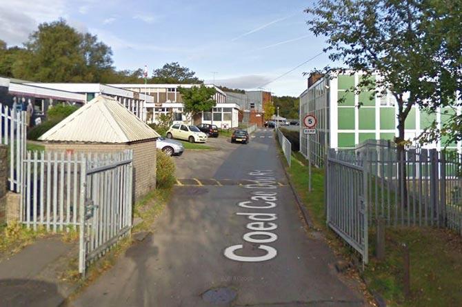 The former Pontllanfraith Comprehensive School